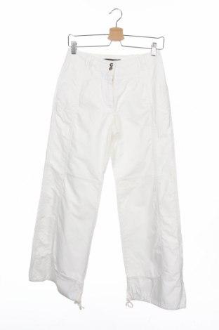 Дамски панталон Weekend Max Mara, Размер XS, Цвят Бял, 66% памук, 34% полиамид, Цена 40,78лв.