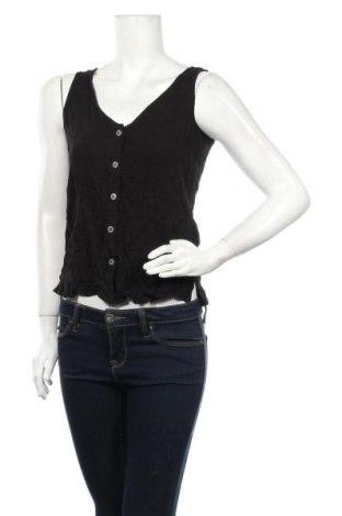 Γυναικείο αμάνικο μπλουζάκι Esprit, Μέγεθος XS, Χρώμα Μαύρο, Βισκόζη, Τιμή 2,47€