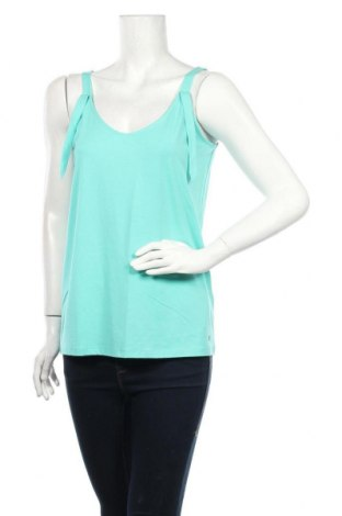 Γυναικείο αμάνικο μπλουζάκι Gerry Weber, Μέγεθος M, Χρώμα Μπλέ, 45% βαμβάκι, 45% μοντάλ, 10% ελαστάνη, Τιμή 9,43€