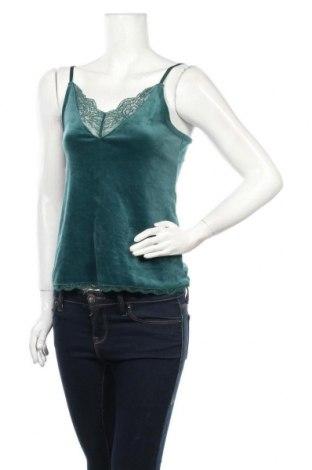 Дамски потник Hunkemoller, Размер S, Цвят Зелен, 95% полиестер, 5% еластан, Цена 11,60лв.