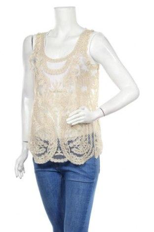 Tricou de damă In Wear, Mărime M, Culoare Auriu, Preț 36,19 Lei