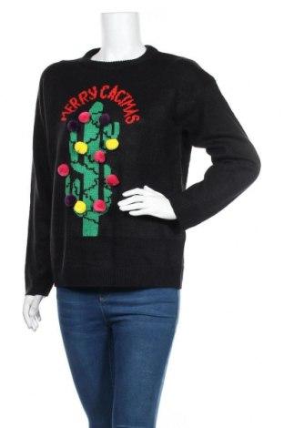 Дамски пуловер Brave Soul, Размер S, Цвят Черен, Акрил, Цена 24,19лв.