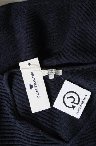 Γυναικείο πουλόβερ Tom Tailor, Μέγεθος S, Χρώμα Μπλέ, Βαμβάκι, Τιμή 26,68€
