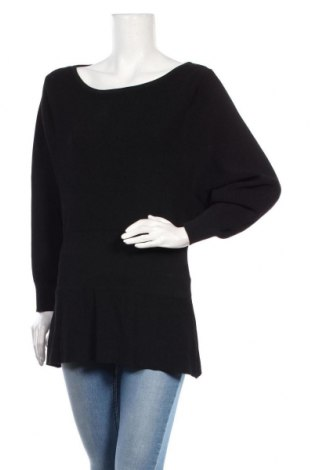 Dámský svetr Zara Knitwear, Velikost M, Barva Černá, 63% viskóza, 37% polyamide, Cena  201,00Kč