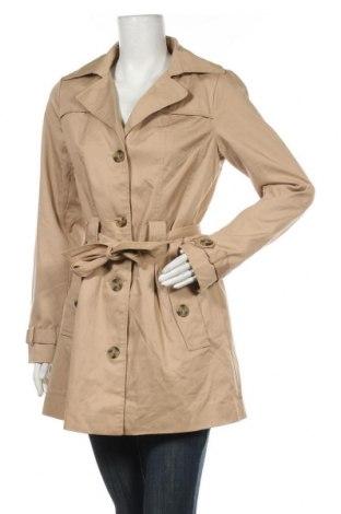 Дамски шлифер Free Quent, Размер S, Цвят Бежов, 65% полиестер, 35% памук, Цена 17,31лв.