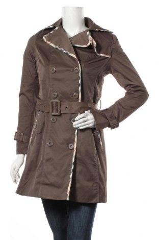 Дамски шлифер Osley, Размер M, Цвят Кафяв, 56% памук, 42% акрил, 2% еластан, Цена 21,74лв.