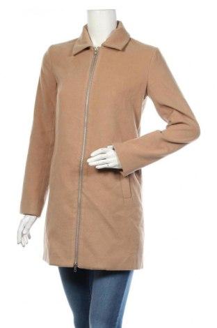 Palton de femei Missguided, Mărime S, Culoare Bej, Poliester, Preț 73,11 Lei