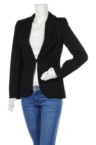 Дамско сако Cortefiel, Размер M, Цвят Черен, Ацетат, Цена 12,40лв.