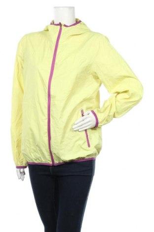 Дамско спортно яке Active By Tchibo, Размер M, Цвят Жълт, Цена 14,56лв.