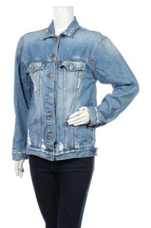 Дамско яке Bardot, Размер M, Цвят Син, 100% памук, Цена 17,90лв.