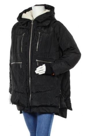 Дамско яке Ci Sono, Размер L, Цвят Черен, Полиестер, Цена 52,92лв.