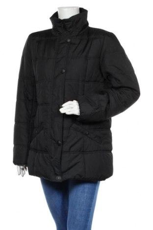 Γυναικείο μπουφάν Tom Tailor, Μέγεθος XL, Χρώμα Μαύρο, Πολυεστέρας, Τιμή 31,55€