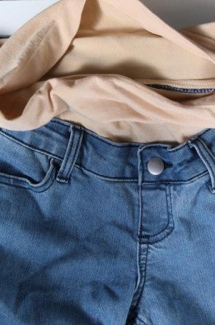 Дънки за бременни, Размер XL, Цвят Син, Цена 12,65лв.