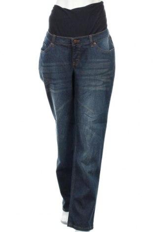 Дънки за бременни John Baner, Размер XXL, Цвят Син, 98% памук, 2% еластан, Цена 17,64лв.