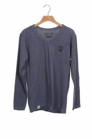 Детска блуза Vingino, Размер 10-11y/ 146-152 см, Цвят Син, 62% полиестер, 33% памук, 5% еластан, Цена 3,54лв.