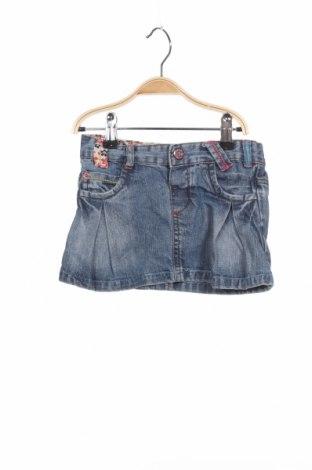 Παιδική φούστα Zara, Μέγεθος 12-18m/ 80-86 εκ., Χρώμα Μπλέ, Βαμβάκι, Τιμή 3,70€