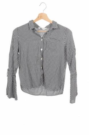 Παιδικό πουκάμισο H&M, Μέγεθος 11-12y/ 152-158 εκ., Χρώμα Μαύρο, Βισκόζη, Τιμή 3,16€