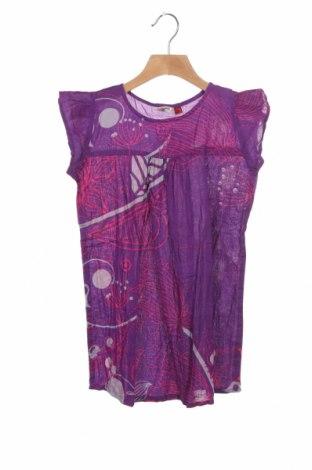 Dětské šaty  Aller Simplement, Velikost 5-6y/ 116-122 cm, Barva Fialová, Bavlna, Cena  300,00Kč