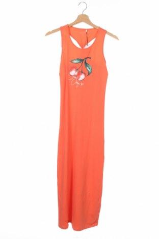 Детска рокля Name It, Размер 11-12y/ 152-158 см, Цвят Оранжев, 95% памук, 5% еластан, Цена 3,00лв.