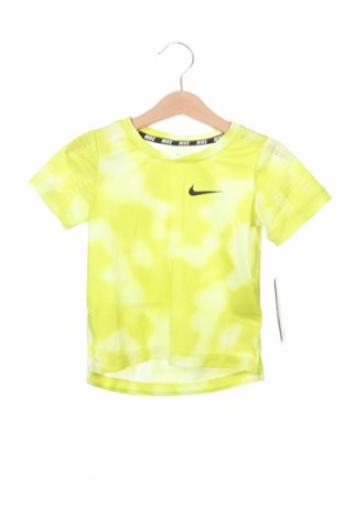 Dětské tričko  Nike, Velikost 18-24m/ 86-98 cm, Barva Žlutá, Polyester, Cena  341,00Kč