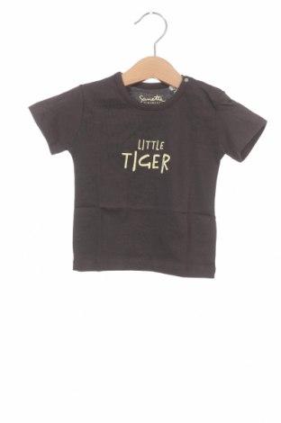Tricou pentru copii Sanetta, Mărime 6-9m/ 68-74 cm, Culoare Gri, Bumbac, Preț 32,57 Lei