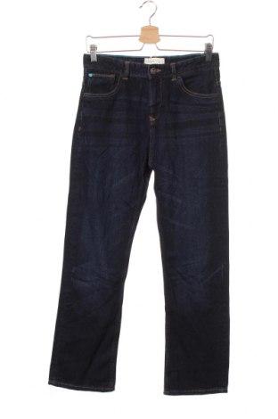 Детски дънки, Размер 13-14y/ 164-168 см, Цвят Син, Памук, Цена 7,61лв.