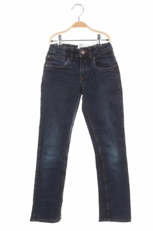 Детски дънки C&A, Размер 9-10y/ 140-146 см, Цвят Син, 99% памук, 1% еластан, Цена 34,50лв.