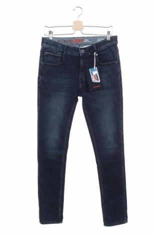 Детски дънки Vingino, Размер 15-18y/ 170-176 см, Цвят Син, 73% памук, 24% полиестер, 3% еластан, Цена 29,40лв.