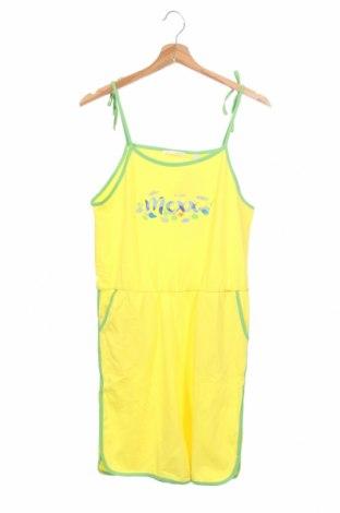 Детски гащеризон Mexx, Размер 12-13y/ 158-164 см, Цвят Жълт, 95% памук, 5% еластан, Цена 14,00лв.