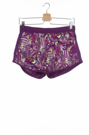 Παιδικό κοντό παντελόνι Adidas, Μέγεθος 14-15y/ 168-170 εκ., Χρώμα Βιολετί, Πολυεστέρας, Τιμή 6,93€