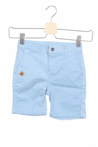 Pantaloni scurți pentru copii Ebbe, Mărime 2-3y/ 98-104 cm, Culoare Albastru, 97% bumbac, 3% elastan, Preț 47,37 Lei