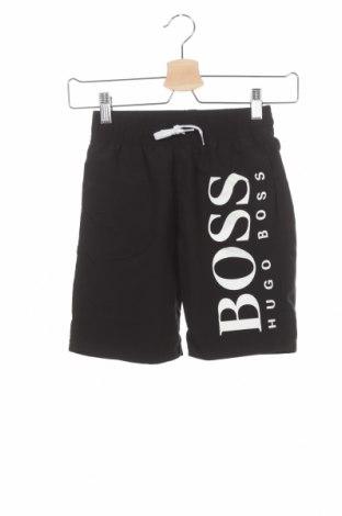 Dětské krátké kalhoty  Hugo Boss, Velikost 7-8y/ 128-134 cm, Barva Černá, Polyester, Cena  842,00Kč