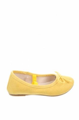 Детски обувки Lefties, Размер 24, Цвят Жълт, Текстил, Цена 9,52лв.