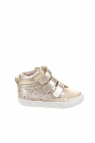 Детски обувки Lefties, Размер 22, Цвят Златист, Еко кожа, Цена 14,40лв.