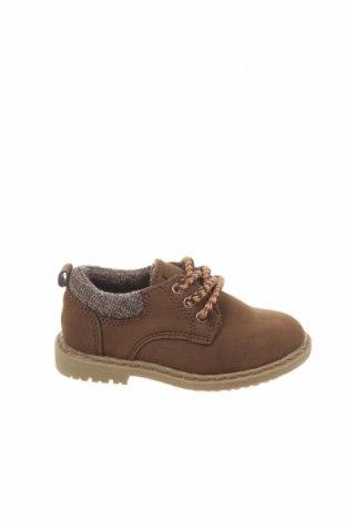 Детски обувки Lefties, Размер 21, Цвят Кафяв, Еко кожа, Цена 8,33лв.