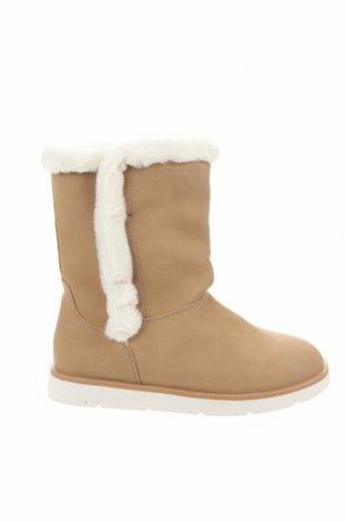 Παιδικά παπούτσια Lefties, Μέγεθος 35, Χρώμα  Μπέζ, Δερματίνη, κλωστοϋφαντουργικά προϊόντα, Τιμή 10,64€