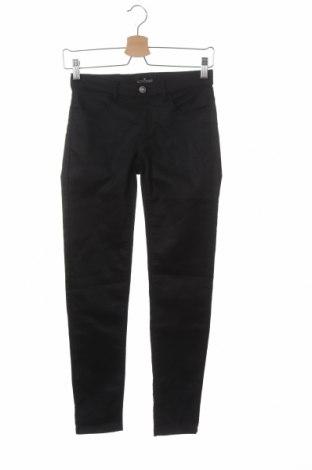 Pantaloni pentru copii Little Remix, Mărime 13-14y/ 164-168 cm, Culoare Negru, 64% bumbac, 32% poliester, 4% elastan, Preț 20,23 Lei