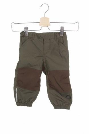 Παιδικό αθλητικό παντελόνι Finkid, Μέγεθος 18-24m/ 86-98 εκ., Χρώμα Πράσινο, 100% πολυαμίδη, Τιμή 9,74€