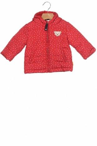 Geacă pentru copii Steiff, Mărime 6-9m/ 68-74 cm, Culoare Roșu, 100% poliester, Preț 98,75 Lei
