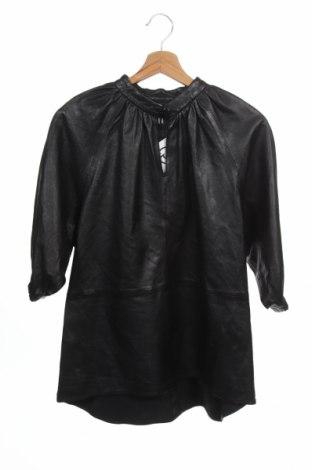 Kožená tunika Ibana, Velikost XS, Barva Černá, Pravá kůže, Cena  1821,00Kč