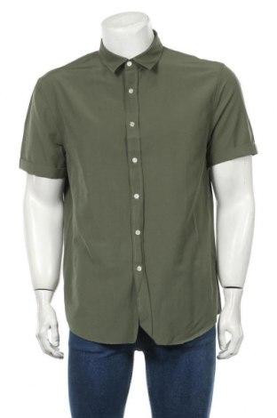 Мъжка риза, Размер XL, Цвят Зелен, Цена 10,13лв.