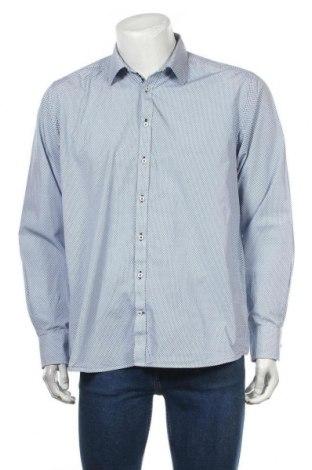 Ανδρικό πουκάμισο Bruun & Stengade, Μέγεθος XL, Χρώμα Μπλέ, Βαμβάκι, Τιμή 7,40€