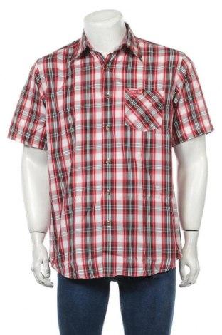 Мъжка риза Fifty Five, Размер M, Цвят Многоцветен, 80% полиестер, 20% памук, Цена 8,48лв.