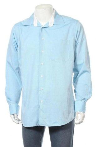 Мъжка риза Jacks, Размер L, Цвят Син, Памук, Цена 5,50лв.