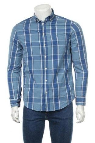 Мъжка риза Mo Casual, Размер S, Цвят Син, Памук, Цена 10,08лв.