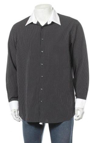 Мъжка риза Montego, Размер XL, Цвят Черен, Памук, Цена 7,19лв.