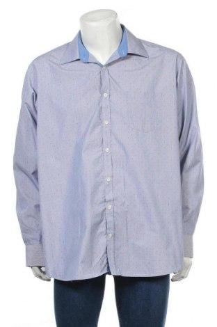 Мъжка риза Morgan, Размер XL, Цвят Син, 60% памук, 40% полиестер, Цена 5,76лв.