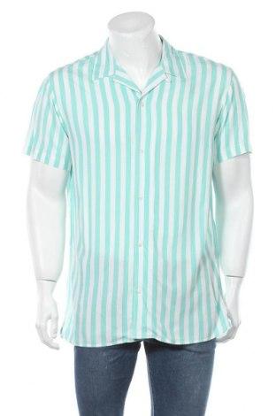 Мъжка риза Originals By Jack & Jones, Размер L, Цвят Бял, Вискоза, Цена 9,79лв.