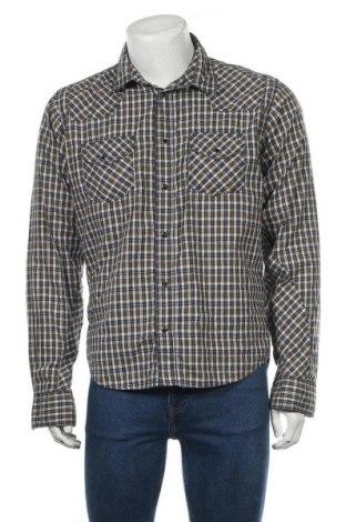 Cămașă de bărbați Solid Jeans, Mărime L, Culoare Multicolor, Bumbac, Preț 14,92 Lei