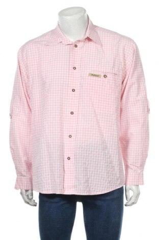 Мъжка риза Stockerpoint, Размер L, Цвят Розов, 55% памук, 45% полиестер, Цена 5,80лв.